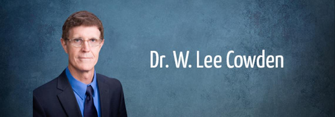 Interview with Dr  Lee Cowden